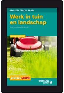 Digitale module Werk in tuin en landschap